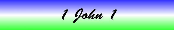 1 John Chapter 1