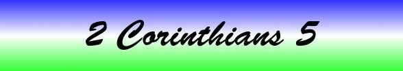 2 Corinthians Chapter 5