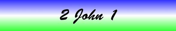 2 John Chapter 1