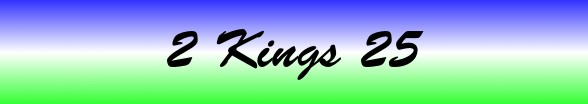 2 Kings Chapter 25