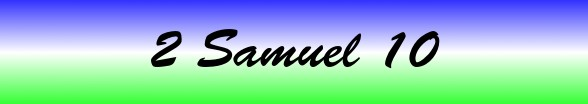 2 Samuel Chapter 10