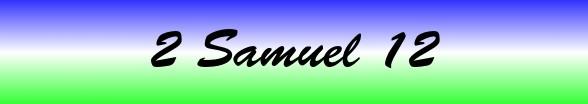 2 Samuel Chapter 12