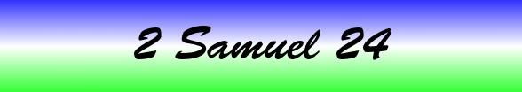 2 Samuel Chapter 24
