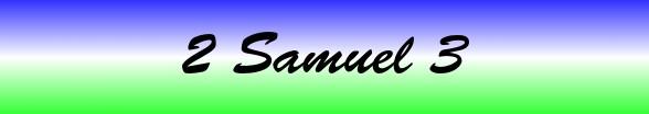 2 Samuel Chapter 3