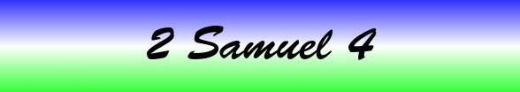 2 Samuel Chapter 4