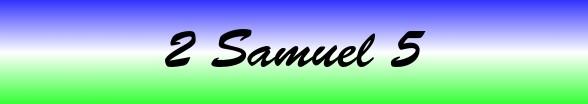 2 Samuel Chapter 5