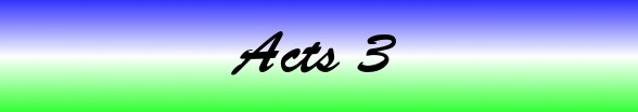 Acts Chapter 3