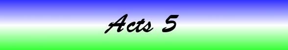 Acts Chapter 5