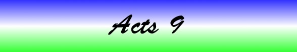 Acts Chapter 9