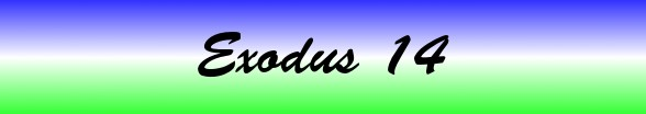 Exodus Chapter 14