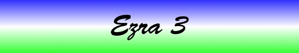 Ezra Chapter 3