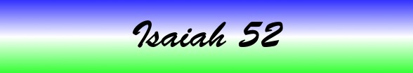 Isaiah Chapter 52