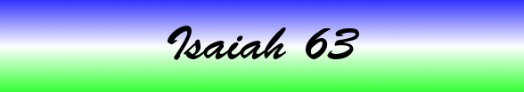 Isaiah Chapter 63