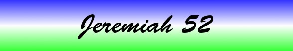 Jeremiah Chapter 52