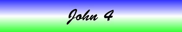 John Chapter 4