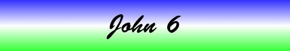 John Chapter 6