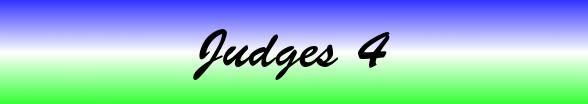 Judges Chapter 4