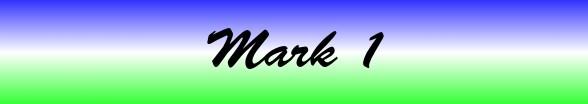 Mark Chapter 1