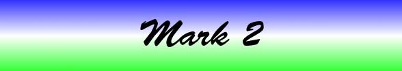 Mark Chapter 2