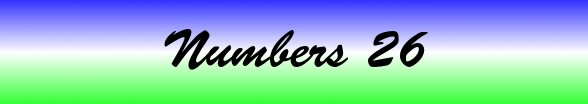 Numbers Chapter 26