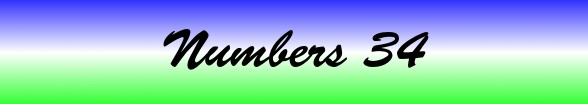 Numbers Chapter 34