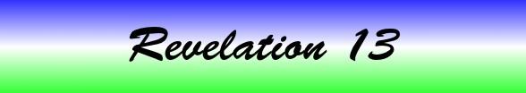 Revelation Chapter 13