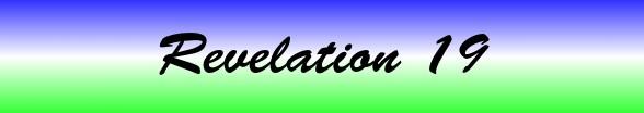 Revelation Chapter 19