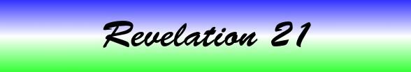 Revelation Chapter 21