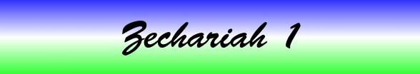 Zechariah Chapter 1